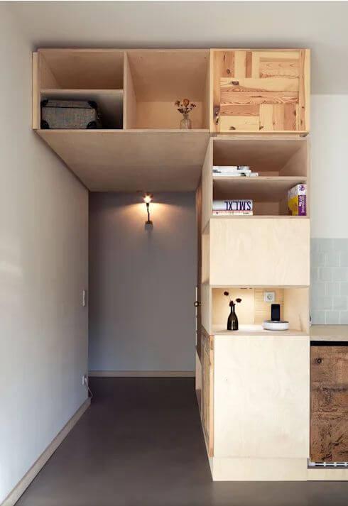 Tận dụng khung cửa - Nội thất cho nhà nhỏ