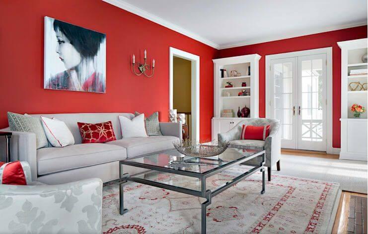 Ấn tượng với tone màu xu hướng cho phòng khách - Cách trang trí phòng khách