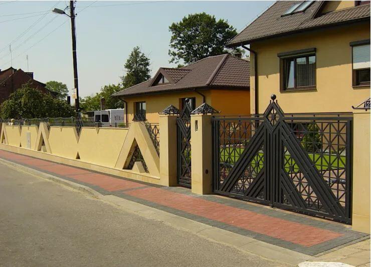 26 ý tưởng thiết kế hàng rào đẹp cho ngôi nhà của bạn - 26