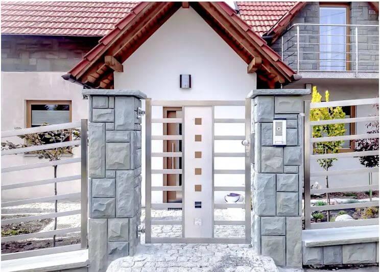 26 ý tưởng thiết kế hàng rào đẹp cho ngôi nhà của bạn - 8