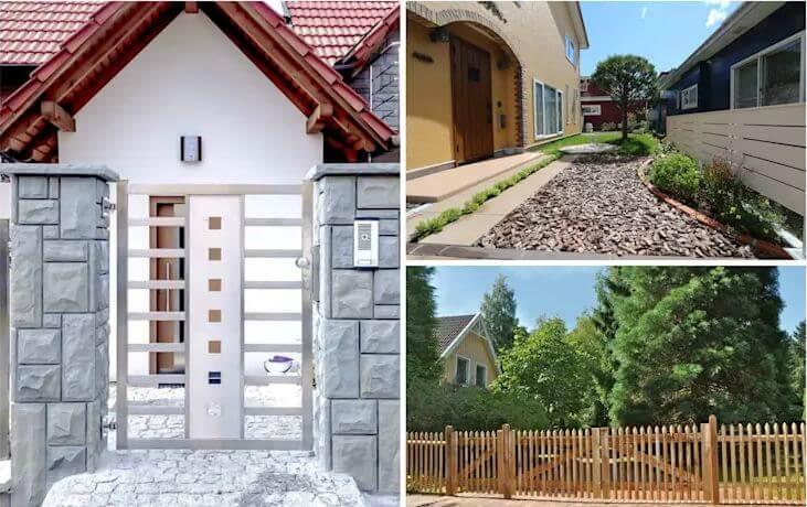 26 ý tưởng thiết kế hàng rào đẹp cho ngôi nhà của bạn
