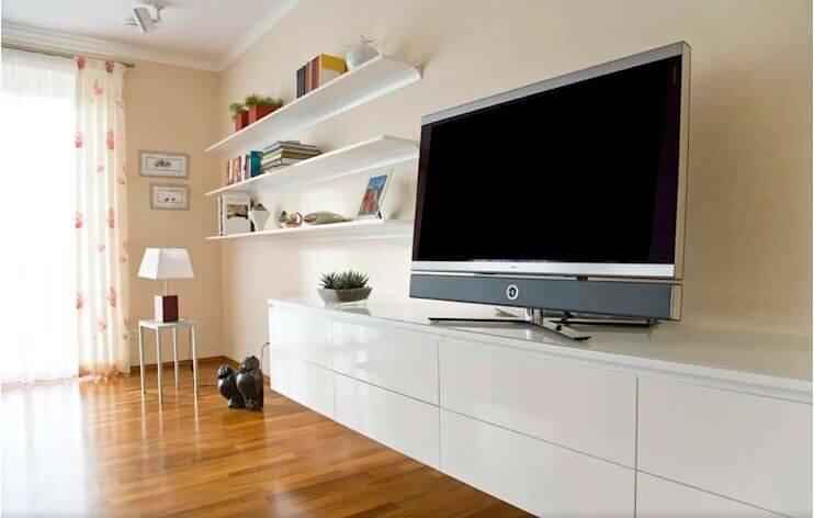 Thiết kế chân đế - Không gian phòng khách đẹp - 1