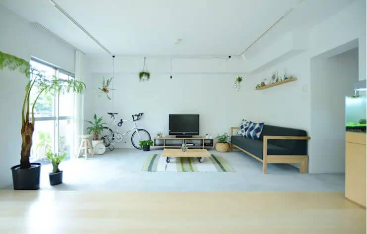 Kích cỡ màn hình - Không gian phòng khách đẹp