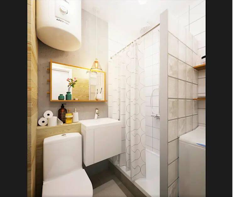 Bố trí thông minh và tiện lợi cho không gian phòng vệ sinh - Thiết kế phòng tắm