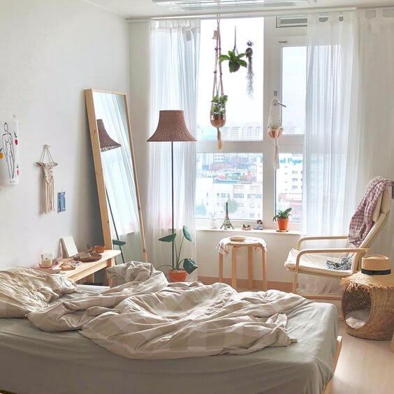 Cách trang trí phòng ngủ đẹp, xinh xắn theo phong cách Hàn Quốc - 2
