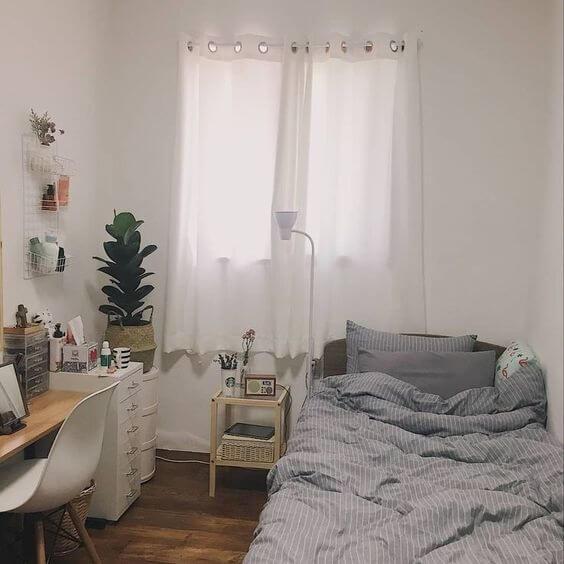 Cách trang trí phòng ngủ đẹp, xinh xắn theo phong cách Hàn Quốc - 4