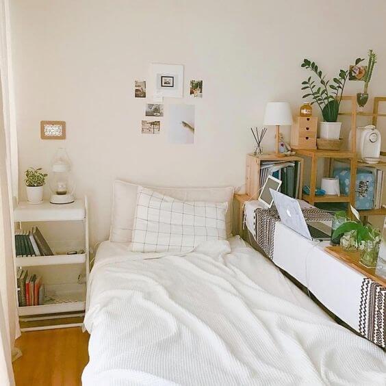 Cách trang trí phòng ngủ đẹp, xinh xắn theo phong cách Hàn Quốc