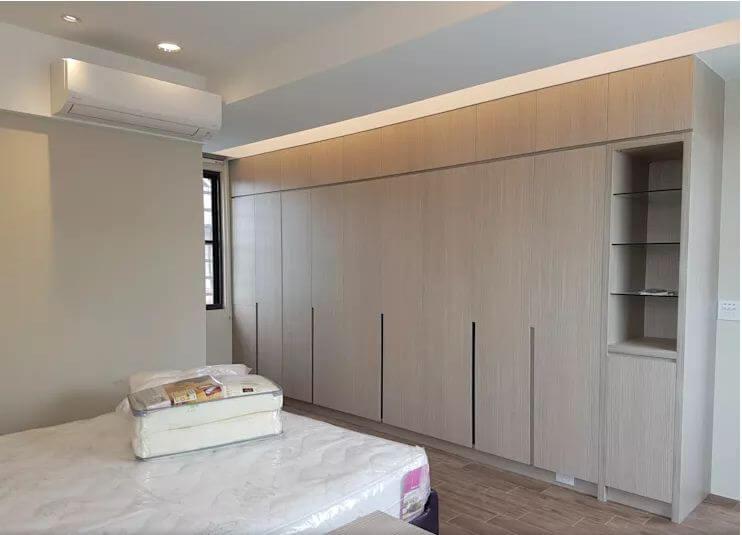 Phòng ngủ ấn tượng với gam màu trắng - Mẫu nhà tiền chế