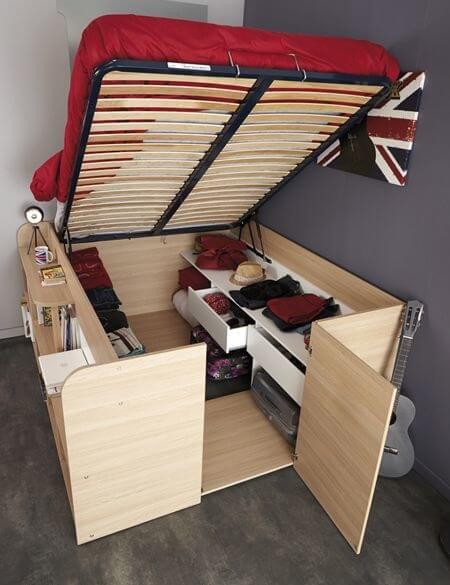 Những giải pháp thiết kế nội thất thông minh cho căn nhà nhỏ - 4