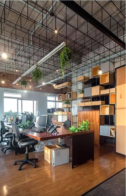 Thiết kế quán Cà phê kết hợp không gian làm việc đầy hứng khởi