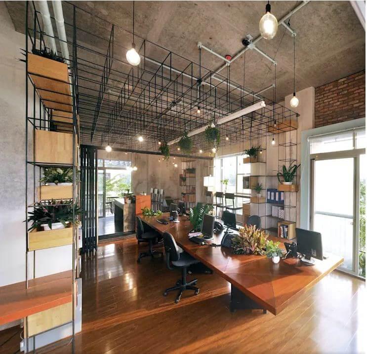Thiết kế quán Cà phê kết hợp không gian làm việc đầy hứng khởi - 1