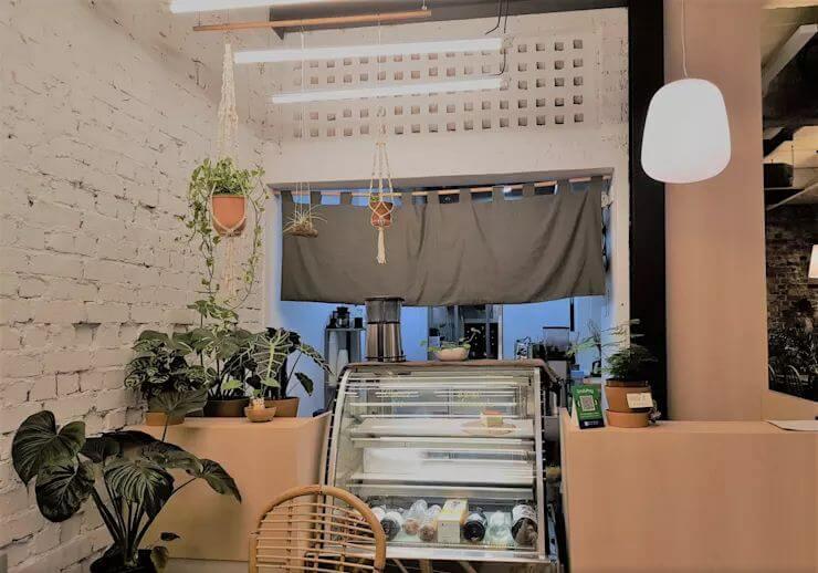 Khu vực pha chế - Thiết kế quán Cafe