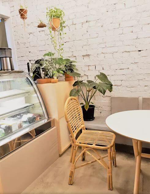 Đồ nội thất tái chế và hoàn toàn tự nhiên - Thiết kế quán Cafe