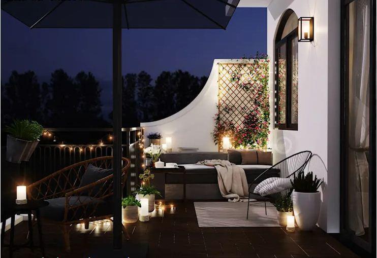 Không gian thư giãn ngoài trời lãng mạn - Thiết kế Studio kết hợp với không gian nhà phố