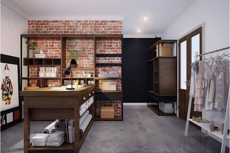 Studio hiện đại ngay trong không gian ở - Thiết kế Studio kết hợp với không gian nhà phố - 2