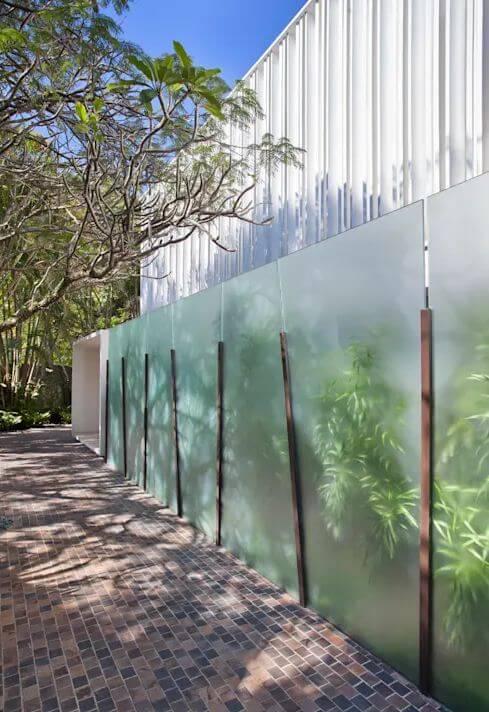 Thiết kế mặt đừng với mảng xanh mát mắt - Mẫu nhà vườn đẹp - 1