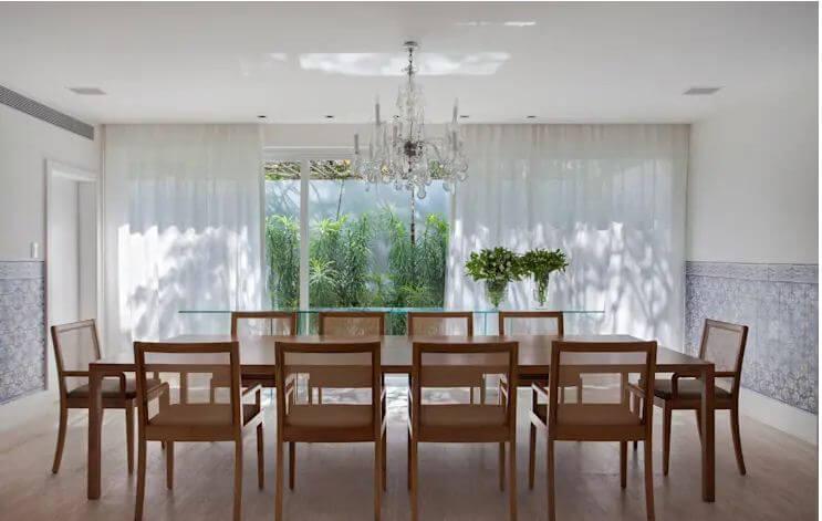 Không gian phòng ăn trang nhã - Mẫu nhà vườn đẹp