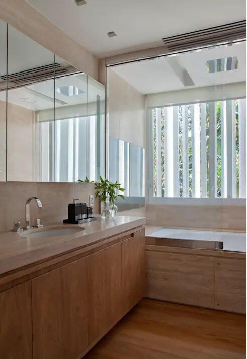 Không gian phòng tắm - Mẫu nhà vườn đẹp