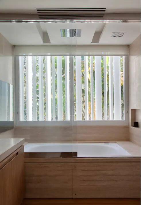 Không gian phòng tắm - Mẫu nhà vườn đẹp - 1