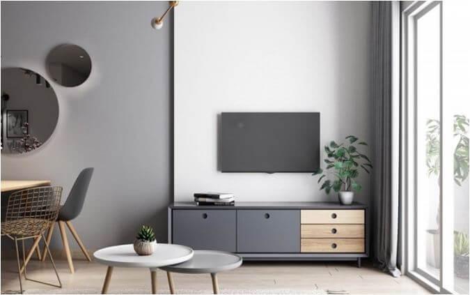 Trang trí căn hộ nhỏ đẹp với tone màu nhã nhặn dành cho mọi nhà - 1