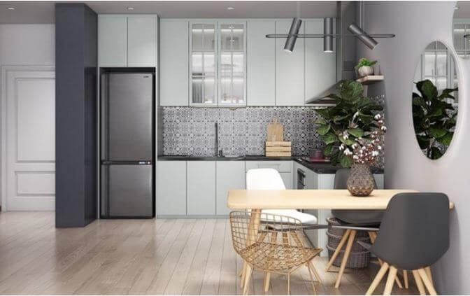 Trang trí căn hộ nhỏ đẹp với tone màu nhã nhặn dành cho mọi nhà - 3