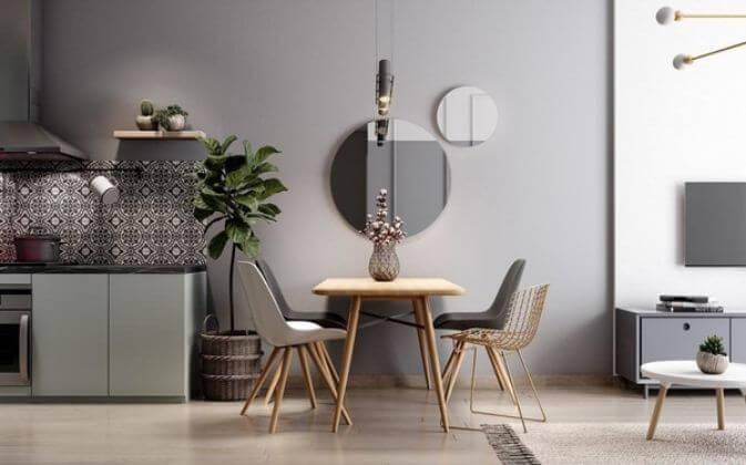 Trang trí căn hộ nhỏ đẹp với tone màu nhã nhặn dành cho mọi nhà - 4