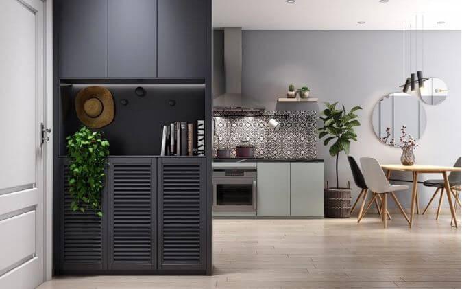 Trang trí căn hộ nhỏ đẹp với tone màu nhã nhặn dành cho mọi nhà - 7