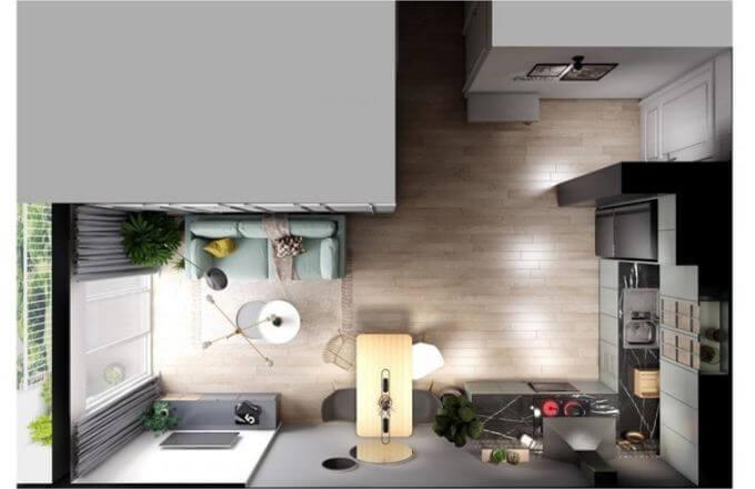 Trang trí căn hộ nhỏ đẹp với tone màu nhã nhặn dành cho mọi nhà - 8