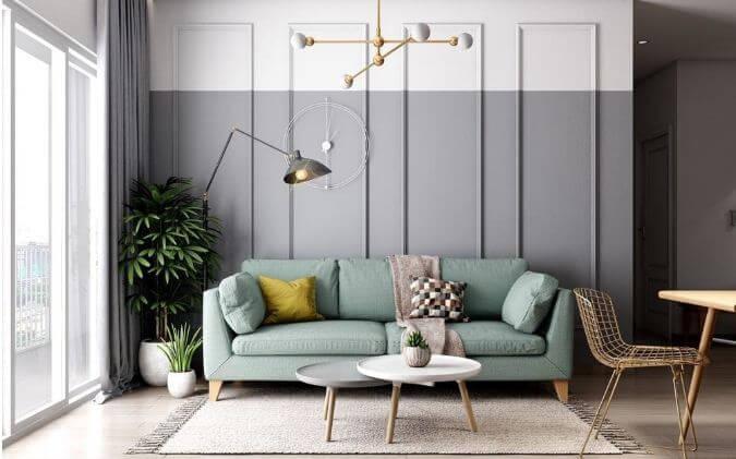 Trang trí căn hộ nhỏ đẹp với tone màu nhã nhặn dành cho mọi nhà
