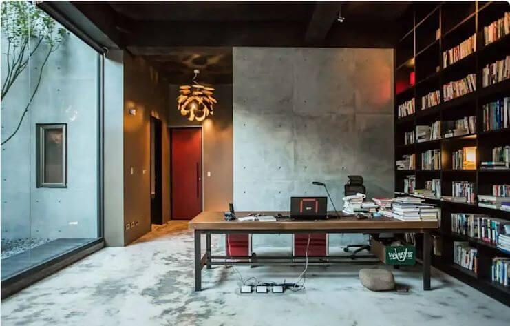 Phòng làm việc ấn tượng với cảm giác thô mộc - Thiết kế Studio / Không gian phòng làm việc