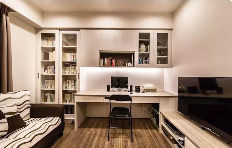 Căn phòng nhỏ ấm cúng - Thiết kế Studio / Không gian phòng làm việc