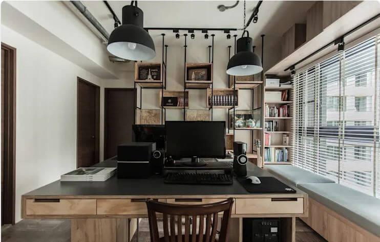 Phong cách Studio công nghiệp đầy sáng tạo - Thiết kế Studio / Không gian phòng làm việc