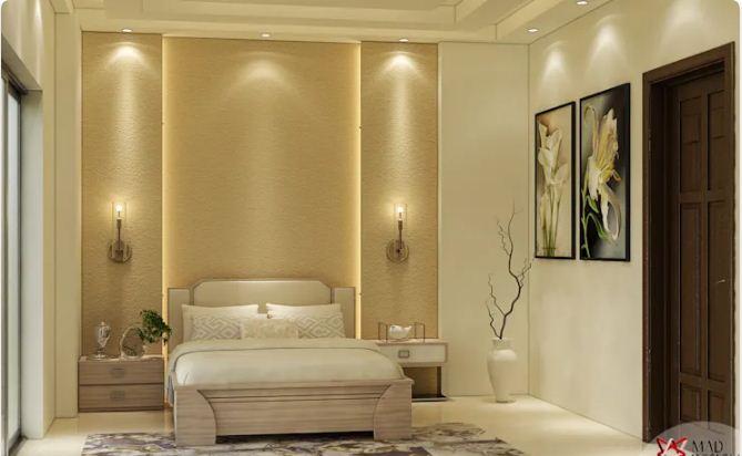 Thay đèn bàn bằng đèn tường trong phòng ngủ - Đèn trang trí nội thất
