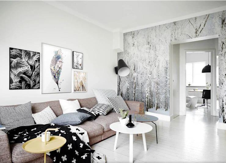 12 mẫu giấy dán tường đẹp - 1