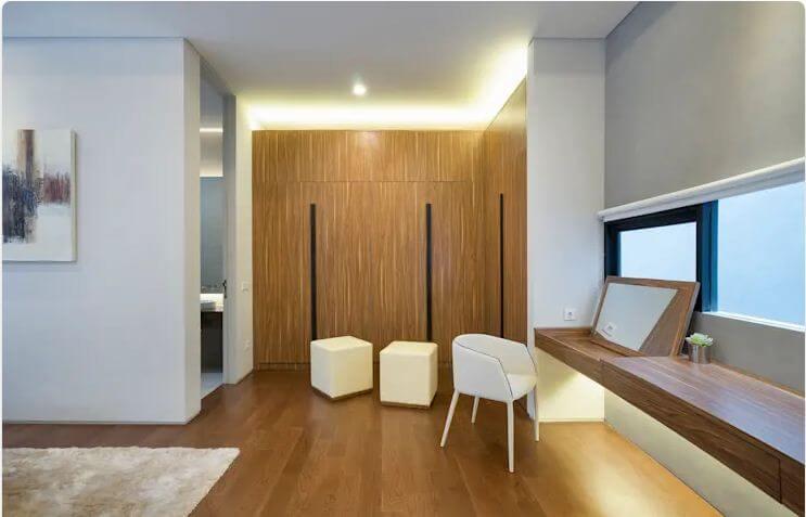 Phòng ngủ hiện đại - Ngôi nhà phố 2 tầng hiện đại đẹp - 1