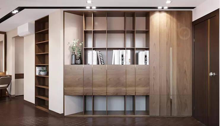 Phòng ngủ Master - Thiết kế căn hộ Penthouse - 1