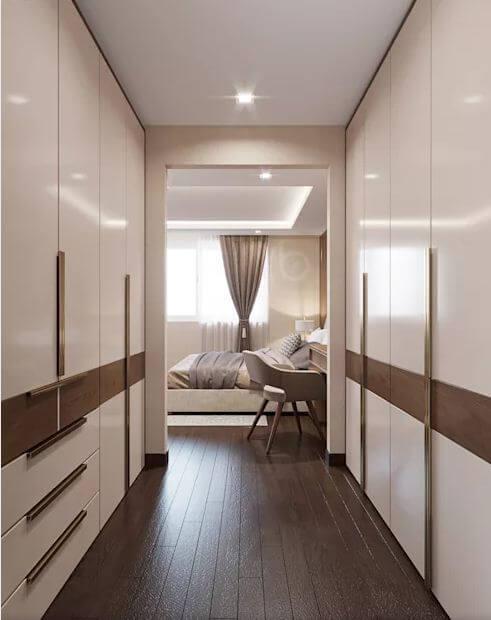 Phòng ngủ Master - Thiết kế căn hộ Penthouse - 3
