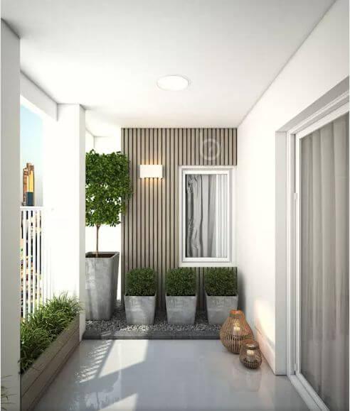 Không gian ban công - Thiết kế căn hộ Penthouse - 1