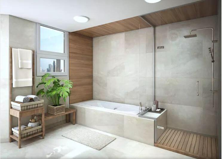 Phòng tắm sang trọng - Thiết kế căn hộ Penthouse - 1