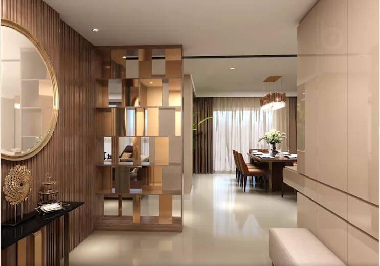 Không gian linh hoạt với nội thất sang trọng - Thiết kế căn hộ Penthouse