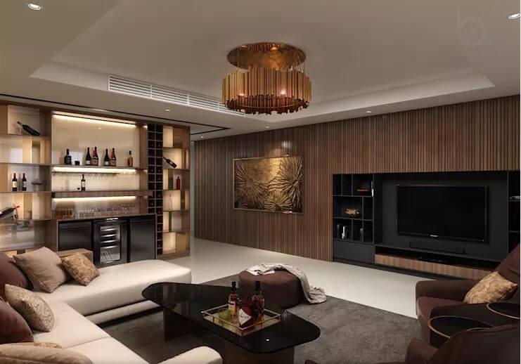 Không gian linh hoạt với nội thất sang trọng - Thiết kế căn hộ Penthouse - 1