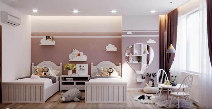 Phòng ngủ cho bé - Thiết kế căn hộ Penthouse - 1
