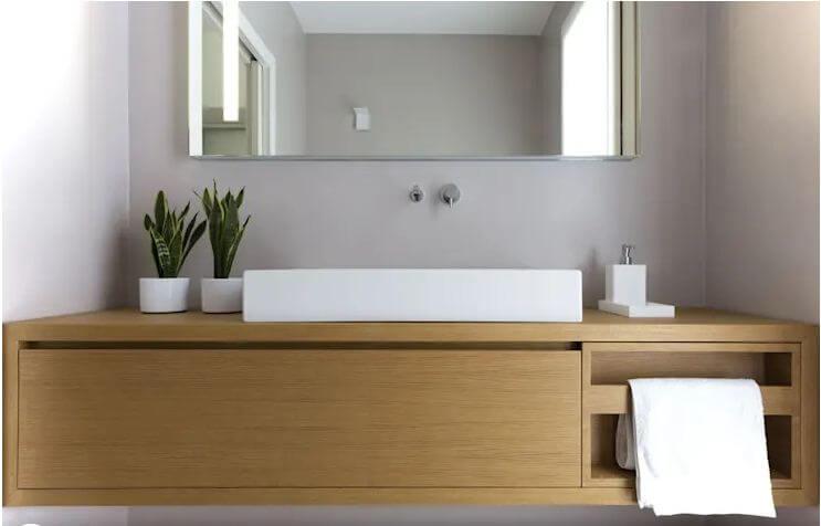 Thiết kế phòng vệ sinh hiện đại, tinh tế - Mẫu biệt thự 2 tầng đẹp