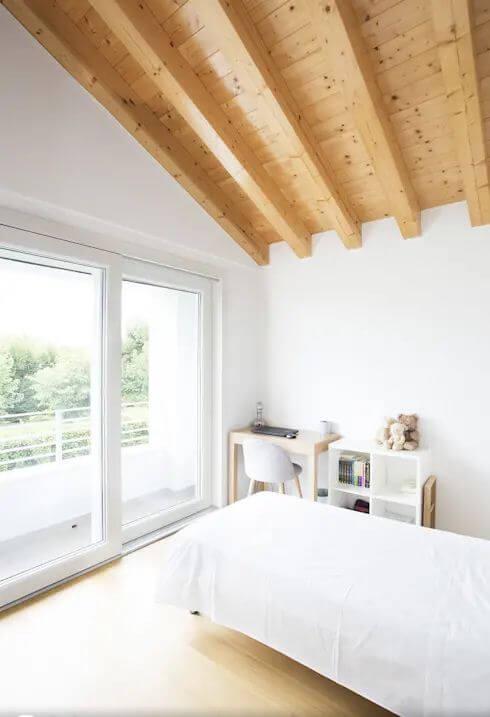 Không gian phòng ngủ - Mẫu biệt thự 2 tầng đẹp