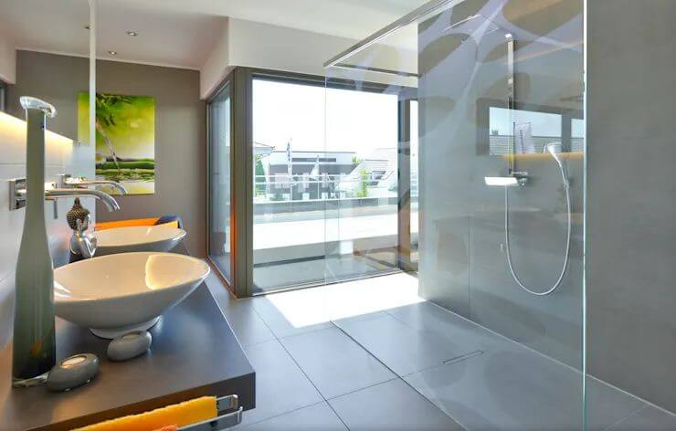 Không gian phòng tắm hiện đại đẳng cấp - Mẫu nhà 2 tầng 186m2