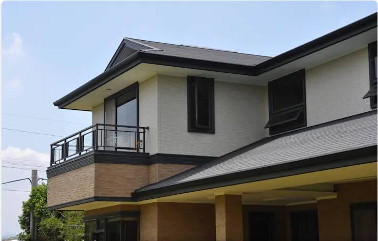 Sự đa dạng của hệ thống cửa sổ - Mẫu thiết kế nhà 2 tầng 80m2