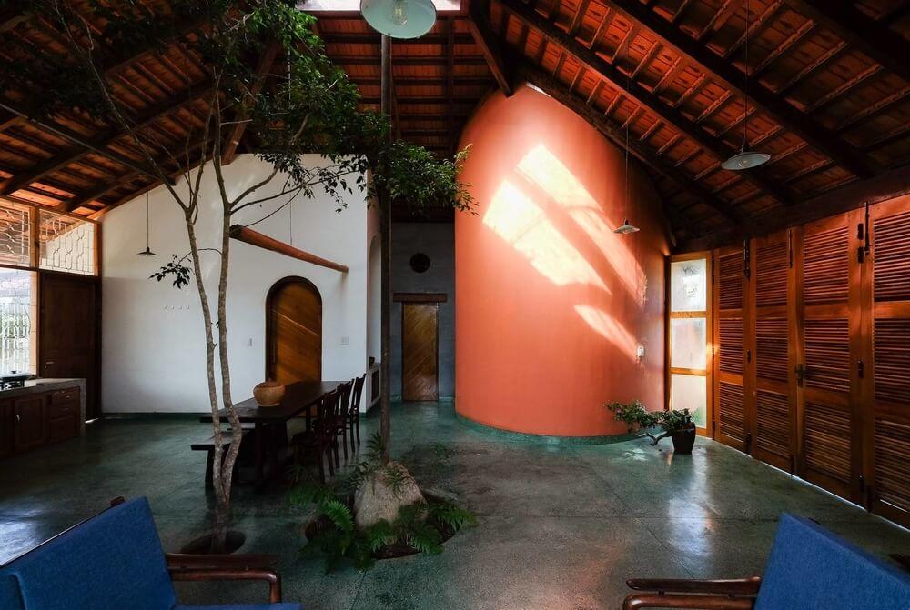 Ngôi nhà mái đỏ một tầng tuyệt đẹp tại Lâm Đồng - 6