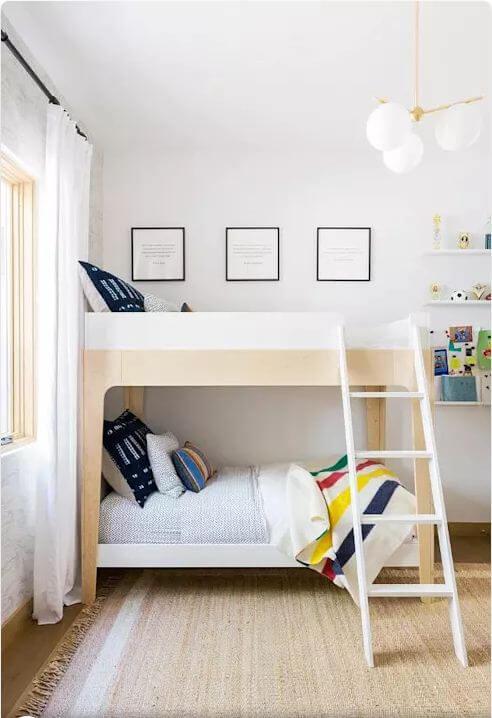 Phòng ngủ của bé - Nội thất biệt thự bờ biển