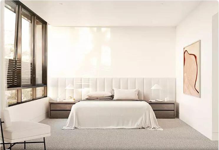Đầu giường âm tường - Nội thất phòng ngủ đẹp