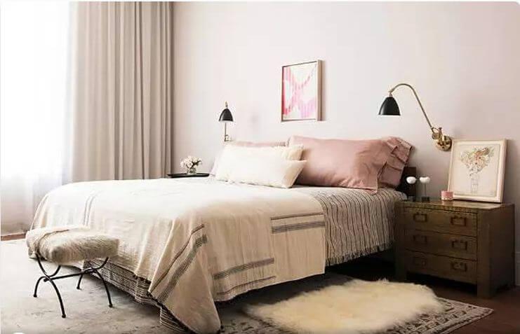 Nghệ thuật xếp lớp họa tiết - Nội thất phòng ngủ đẹp